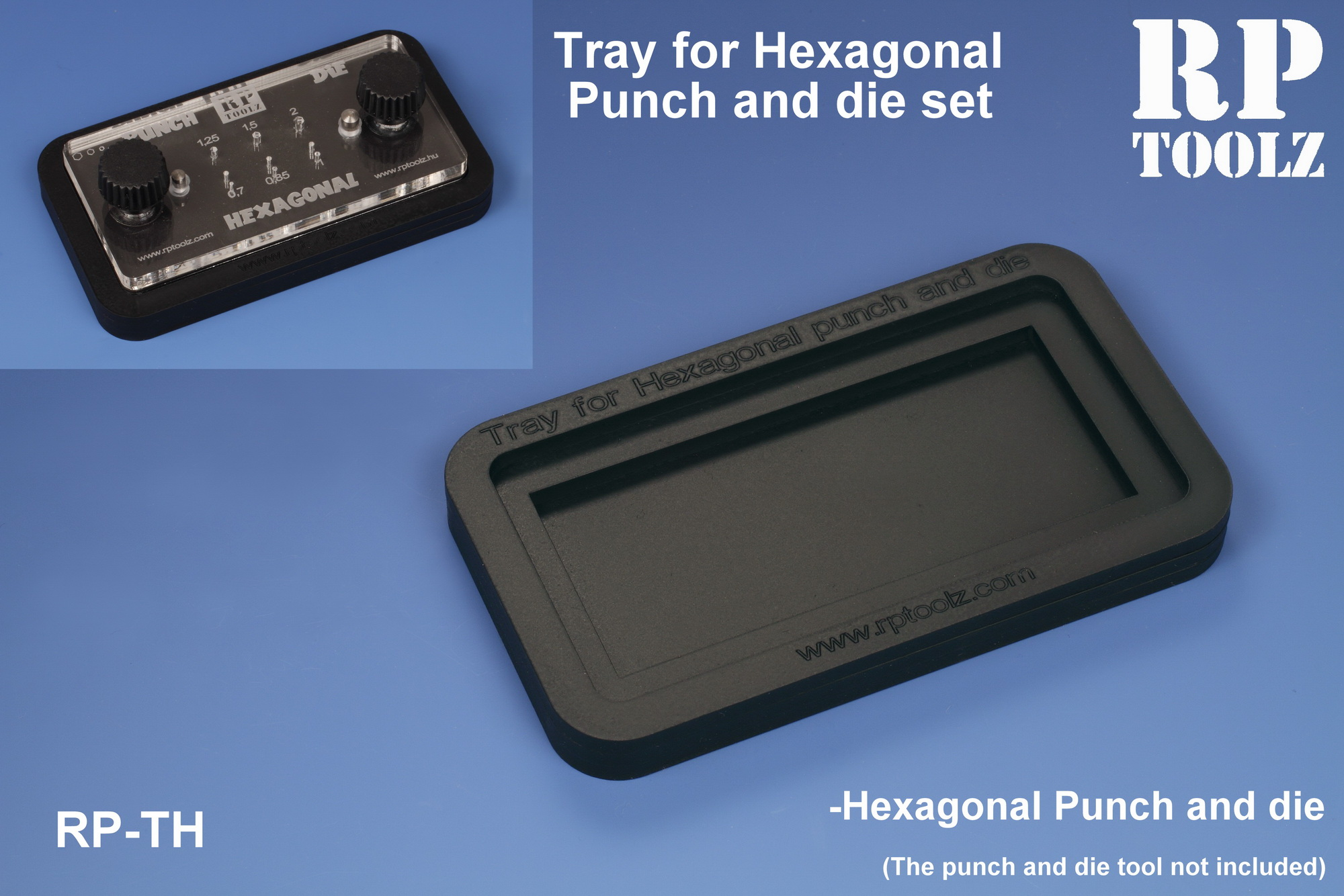 Tray for Hexagonal Punch and die